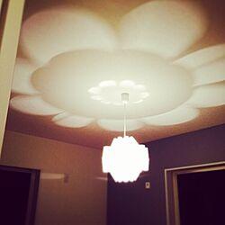 ベッド周り/施主支給/照明好き/新居建築中/アクセントクロスのインテリア実例 - 2014-10-05 20:13:27