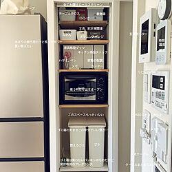収納/団地/リノベーション/キッチンのインテリア実例 - 2021-02-22 19:39:07