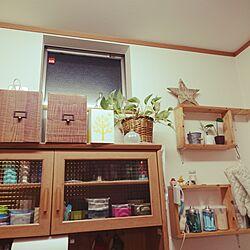 キッチン/DIY/セリアDIY/リメイクシール/棚DIYのインテリア実例 - 2016-01-11 18:00:43