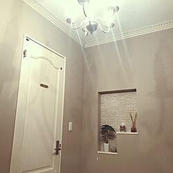 壁/天井/ドア/サインプレート/ウッドワン/ニッチ...などのインテリア実例 - 2017-10-20 22:33:05