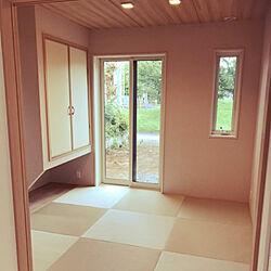 部屋全体/和室/たたみの部屋のインテリア実例 - 2020-07-03 21:54:28