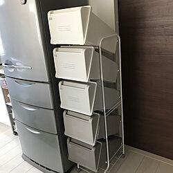 5段ごみ箱/分別ゴミ箱/分別ごみ箱/縦型ゴミ箱/縦型ごみ箱...などのインテリア実例 - 2020-10-31 21:50:15
