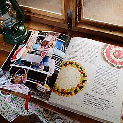 机/私スペース/DIY/カラボリメイクカウンター/図書館からかりてきた本...などのインテリア実例 - 2015-01-20 17:21:45