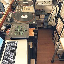 DJ BOOTH/DJブース/DJ部屋/書斎/趣味のインテリア実例 - 2017-01-12 17:41:19