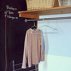 バス/トイレ/DIY/洗面所/黒板塗料のインテリア実例 - 2014-03-17 08:01:45