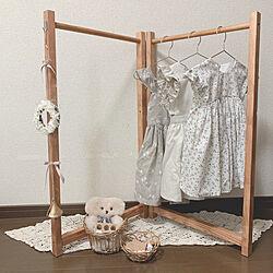 子供部屋/子供服 収納/ものづくりが好き/ものづくり/DIY女子...などのインテリア実例 - 2019-06-07 19:02:27
