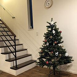 クリスマス/北欧雑貨/リビングの一角/リビング/アトリエニキティキのインテリア実例 - 2020-11-08 16:32:25