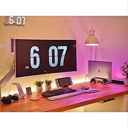 作業部屋/Switch NINTENDO/照明/IKEA/インテリア...などのインテリア実例 - 2021-02-25 00:03:56