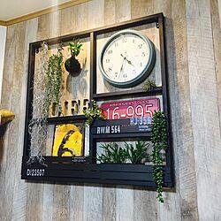 リビング/TURNER'S IRON PAINT/DIY/観葉植物/壁紙屋本舗...などのインテリア実例 - 2017-03-14 16:37:40