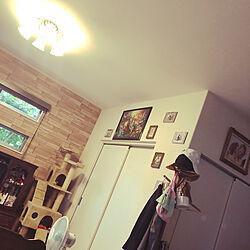 てづくり小物/壁掛けインテリア/Daiso/リビングの一角/クラシカルな雰囲気...などのインテリア実例 - 2020-08-08 06:54:02