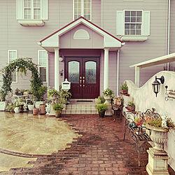 庭/玄関/入り口のインテリア実例 - 2021-09-21 05:26:56