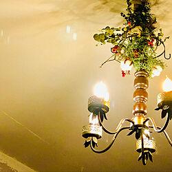 ドライフラワー/リノベーション/ダイソー/ハンドメイド/照明...などのインテリア実例 - 2018-12-19 16:00:31