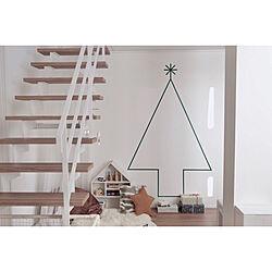 リビング/クリスマスプレゼント/リビング階段下/リビング階段/イナズマ階段...などのインテリア実例 - 2017-12-26 04:16:39