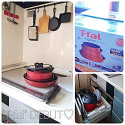 キッチン/T-faL/T-falインジニオ・ネオ/初めての/保温調理器...などのインテリア実例 - 2019-07-30 08:28:26