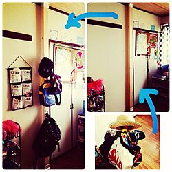 DIY/tom's room/ジョイフル本田/ディアウォール/ポールハンガーのインテリア実例 - 2014-10-09 09:17:05