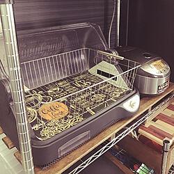 キッチン/ニトリ/キャンドゥ/レトロ/3COINS...などのインテリア実例 - 2017-08-22 12:06:20