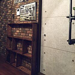 ラック DIY/工具/ネットショップ絶賛営業中/男前/インダストリアルのインテリア実例 - 2015-04-09 18:46:30