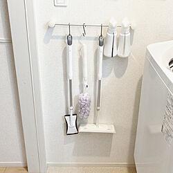 洗面所/ウイルス除去/クイックル/トイレ掃除/除菌...などのインテリア実例 - 2021-05-19 12:29:17