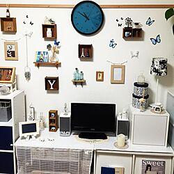 壁/天井/ナチュラル/雑貨/100均/フランフラン...などのインテリア実例 - 2015-07-22 22:55:36