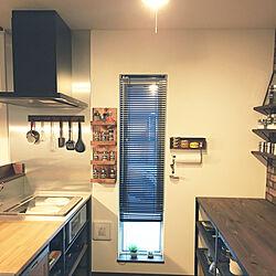 キッチン/BAR風/DIY/カフェ風/キッチン収納...などのインテリア実例 - 2018-07-12 20:04:55