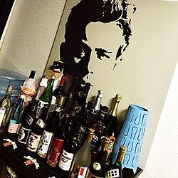 お酒コーナー/IKEAのインテリア実例 - 2017-01-14 22:29:25