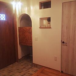 玄関/入り口/つららライト/つららのインテリア実例 - 2017-09-27 14:49:25