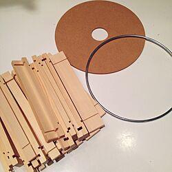 壁/天井/DIYライト/WAGON WORKS/BeauBelleのインテリア実例 - 2015-04-16 20:22:37
