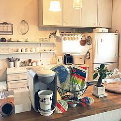 キッチン/まずはキッチンに配置/ありがとうございます♡/モニター当選/LOHACO...などのインテリア実例 - 2018-10-26 10:48:33