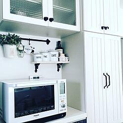 キッチン/ウッドワン/ホワイトインテリア/白のチカラ/DIY...などのインテリア実例 - 2016-08-22 21:53:32