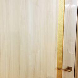 玄関/入り口/ドア/リボン/DIYのインテリア実例 - 2017-04-12 21:08:03