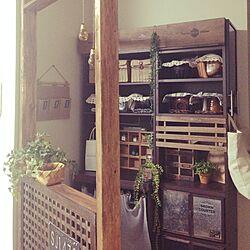 キッチン/食器/ディアウォール/雑貨/セリア...などのインテリア実例 - 2015-08-18 20:19:37