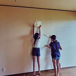 壁/天井/DIY/セルフリノベーション/みて頂き有難うございます(^^)/はじめての住宅購入...などのインテリア実例 - 2020-08-06 12:49:59
