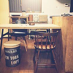 キッチン/食器棚/adepeche/収納スツール/オークション...などのインテリア実例 - 2015-11-02 21:45:37