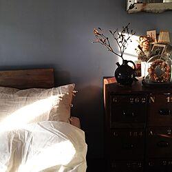 ベッド周り/アンティークのインテリア実例 - 2014-10-21 21:21:24