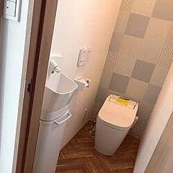 トイレ/ナチュラル/ナチュラルインテリア/日当たりの悪い家/小さなお家...などのインテリア実例 - 2019-09-25 15:53:43
