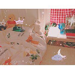 ベッド周り/布団派/照明/一人暮らし/小物のインテリア実例 - 2016-09-17 20:53:41