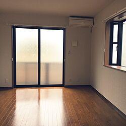 部屋全体/1K 9畳/1K/引っ越します/入居時...などのインテリア実例 - 2017-06-18 13:43:07