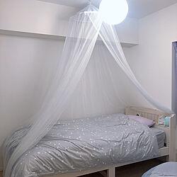 おんなの子の部屋/IKEA 照明/IKEA/イケア/こども部屋...などのインテリア実例 - 2021-01-17 17:01:02