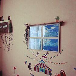 ベッド周り/雑貨/100均/DIY/手作り...などのインテリア実例 - 2015-01-31 10:41:50