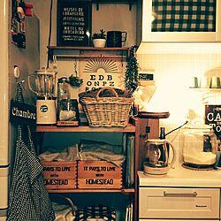 キッチン/hal36さんのポスター/バスロールサイン/ミキサー/雑貨...などのインテリア実例 - 2014-11-23 06:51:48