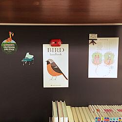 壁/天井/鳥が好き。/山が好き。/無印良品のインテリア実例 - 2017-10-27 08:24:04