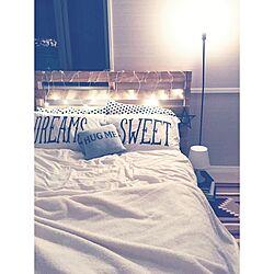 ベッド周り/ロンハーマン/ライト/照明/ベッド...などのインテリア実例 - 2015-09-08 22:11:55