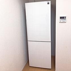 SHARPプラズマクラスター/SHARPの冷蔵庫/SHARP/冷蔵庫/一人暮らし...などのインテリア実例 - 2018-08-20 12:17:03