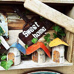 雑貨/おとぎハウス/ハンドメイド/手作り/サビサビ...などのインテリア実例 - 2015-07-17 17:36:08
