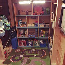 棚/子供部屋/おもちゃ収納/こども部屋/小物収納...などのインテリア実例 - 2016-05-31 13:29:41