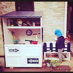 玄関/入り口/DIY/手作りのインテリア実例 - 2014-04-18 21:28:08
