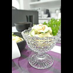 ポテトサラダ/食器/ブログ更新しました♪のインテリア実例 - 2014-06-22 21:53:39