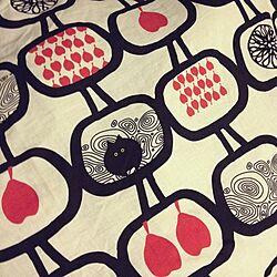 ベッド周り/IKEA/布団カバーのデザイン/団地のインテリア実例 - 2014-02-03 22:56:50