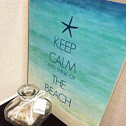 バス/トイレ/ハワイに行きたい♡/KEEP CALM/Posterのインテリア実例 - 2014-05-16 20:07:48