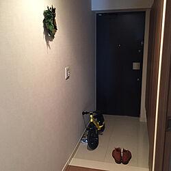 玄関/入り口/Tricker's/STRIDER/マンションライフ/マンション暮らしのインテリア実例 - 2017-12-28 13:48:47